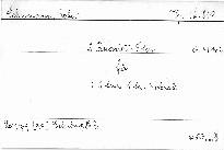 2. Quartett F dur für 2 Violinen, Viola und Violon