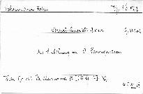 Streichquartett A dur, op. 41