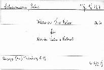 Klaviertrio F dur für Klavier, Violine und Violonc