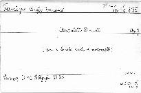 Quartett d moll pro 2 housle, violu a violoncello,