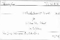 II. Streichquartett Fis moll, Op. 13