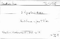 5. Symphonie B dur