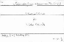 4. Quartett C dur für 2 Violinen, Viola und Cello