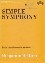 Simple Symphony for String Orchestra (or String Quartett)