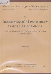 České vánočnín pastorely