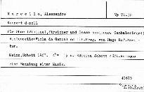 Konzert d-moll für Oboe (Violine), Streicher und Basso continuo