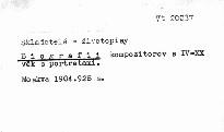 Biografii kompozitorov s IV-XX věk. s portretami