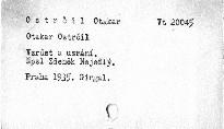 Otakar Ostrčil