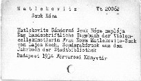 Metlekovits Sándorné szuk Roza naploja