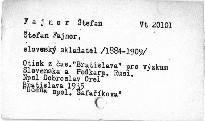 Štefan Fajnor slovenský skladatel /1844-1909/