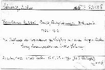 Briefe, Aufzeichnungen, Dokumente