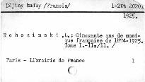 Cinquante ans de musique française de 1874 a 1925