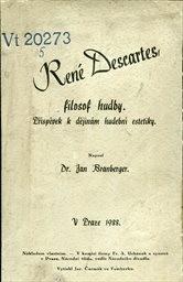 René Descartes, filosof hudby