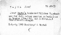 Joseph Haydns handschriftliches Tagebuch