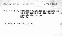Allgemeine illustrierte Encyklopedie der Musikgeschichte