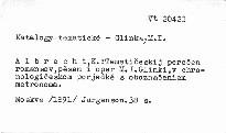 Tematičeskij perečen romansov pěsen i oper M. I. Glinki