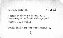 Seznam památek ze života a díla Bedřicha Smetany