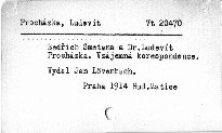 Bedřich Smetana a Dr. Ludevít Procházka