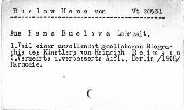 Aus Hans von Bülow's Lehrzeit