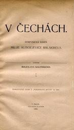 Balakirev M. A.: V Čechách