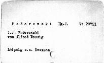I. J. Paderewski