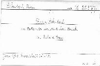 Franz Schubert der Vollender der deutschen Musik