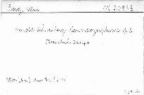 Arnold Schoenberg Kammersymphonie, op. 9