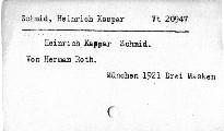 Heinrich Kaspar Schmid