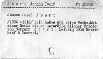Johann Josef Abert