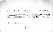 Slavnosti pořádané při příležitosti 100. výročí smrti slavného českého houslisty Josefa Slavíka ve dnech 28. a 31. května 1933 v Jincích, Hořovicích a Praze