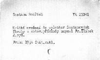 Krátké uvedení do zpěvoher Smetanových