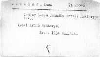 Dopisy Leoše Janáčka Artuši Rektorysovi