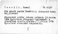 Sté výročí vzniku Tomášikovy slovanské hymny Hej, Slované