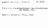 Das Atlantisbuch der Musik