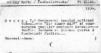 2 conferinte festive tinute in Aula Universitatii din Cernăuti cu ocazia aniversării Zilei Nationale Cehoslovace la 28 Octombrie 1934