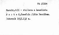Za Jiřím Heroldem