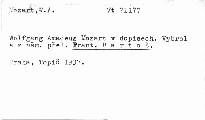 Wolfgang Amadeus Mozart v dopisech