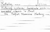 Katalog výstavky hudebního archivu zemského musea v Brně