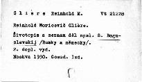 Reinhold Moricovič Gliére