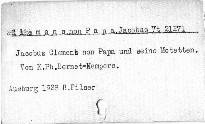 Jacobus Clemens non Papa und seine Motteten