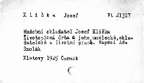 Hudební skladatel Jos. Klička