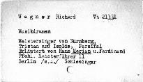 Richard Wagner's Musikdramen