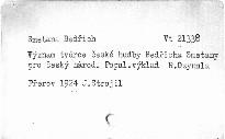 Význam tvůrce české hudby Bedřicha Smetany pro čes