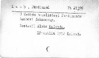 O českém houslistovi Ferdinandu Laubovi