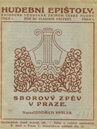 Sborový zpěv v Praze