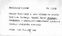 Otakar Hostinský a jeho význam ve tvorbě Bedřicha Smetany