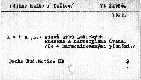 O písni slovanské                         (II)