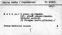 O písni slovanské                         (III)