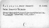 Fedor Ivanovič Šaljapin
