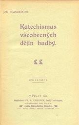 Katechismus všeobecných dějin hudby